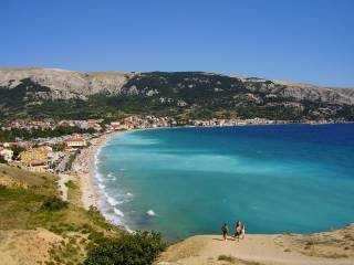 Baska na wyspie Krk